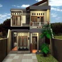 Contoh Rumah Mewah 2 Lantai Desain Minimalis
