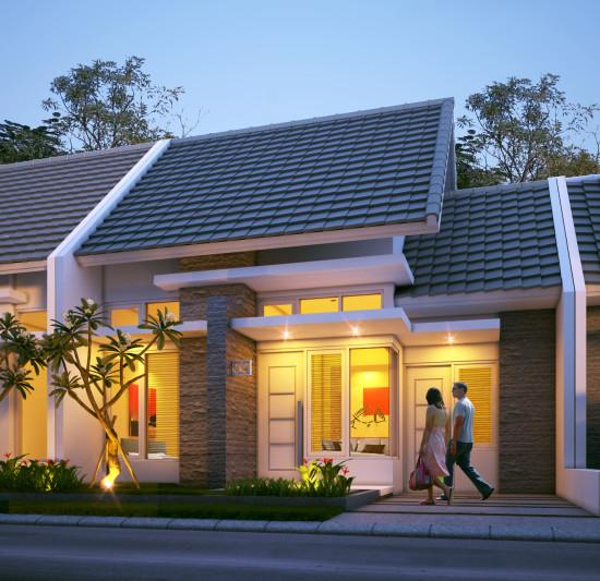 Desain Rumah Minimalis Lebar 4 Meter  rumah minimalis 1 lantai cv alparsa