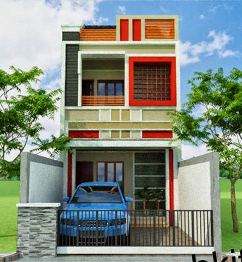 Desain Rumah Minimalis Lebar 5 Meter  rumah minimalis 2 lantai lebar 3 meter 2020 rumah