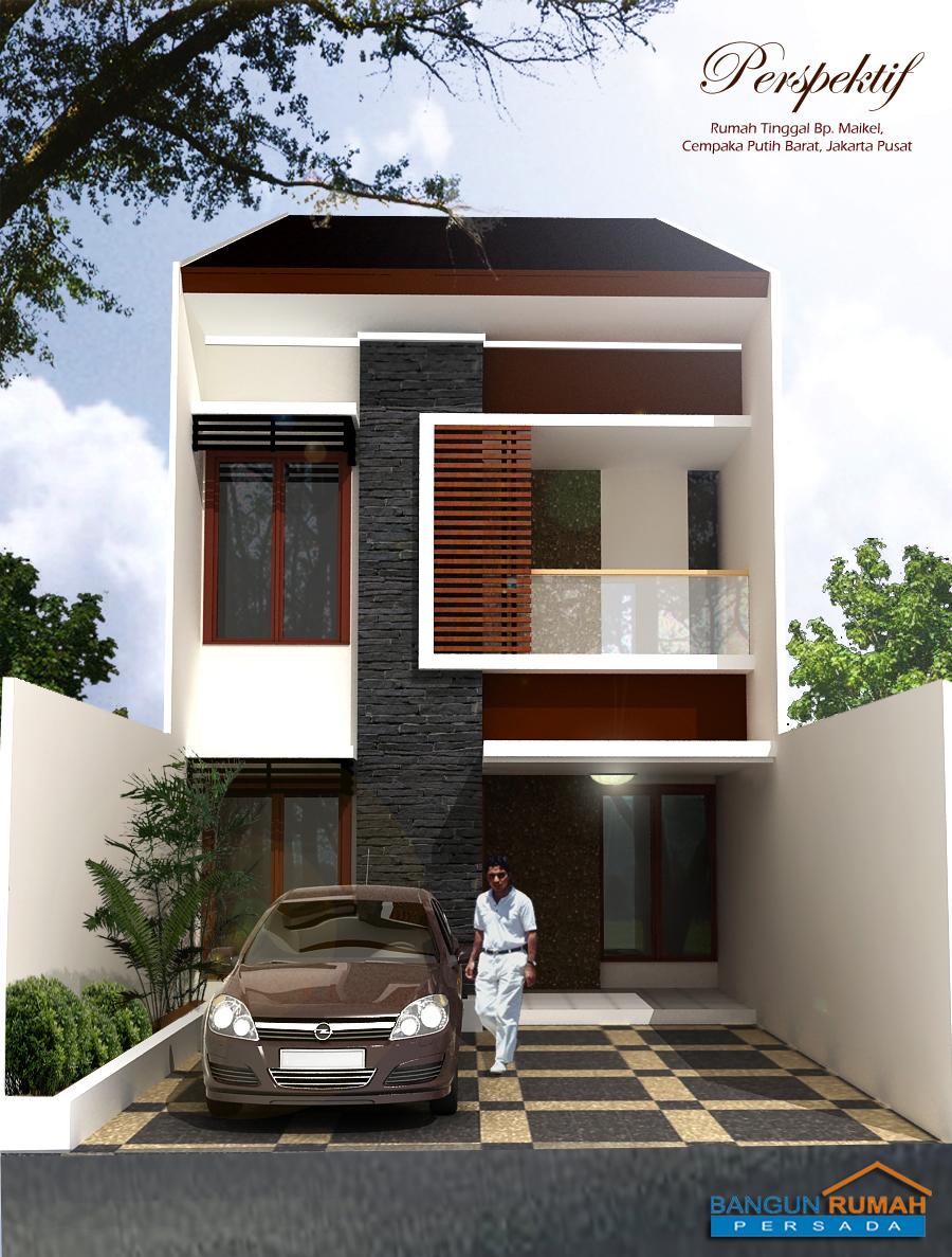 Rumah Minimalis 1 Lantai Lebar 4 Meter Desain Rumah